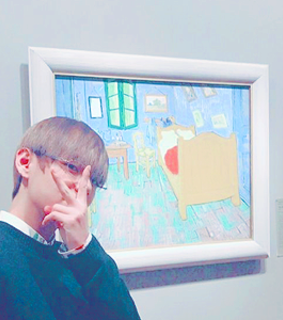 aesthetic, taehyung moodboards and paintings
