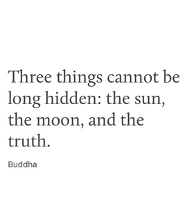 lie, the truth and mysterious