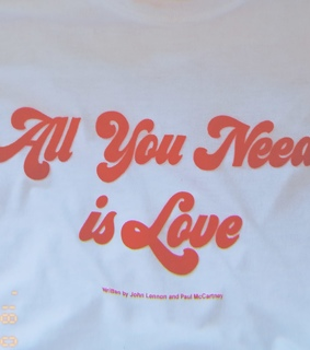 all you need is love, retro aesthetic and 70s fashion