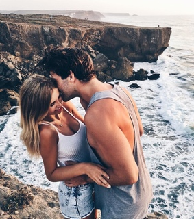 nature, tumblr and couple