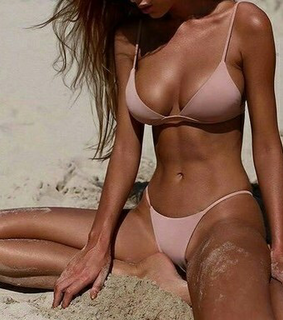 fit, beach and tan