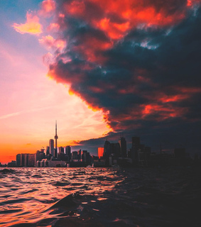 cityscape, travel and canada