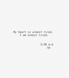 save, tired and sad