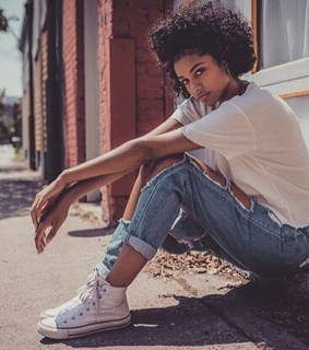 converse, sneakers and curls