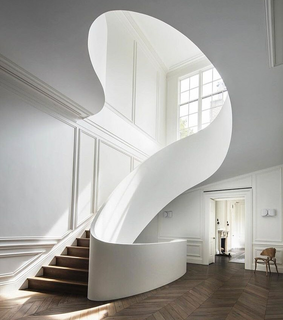 stairs, home and avantgarde
