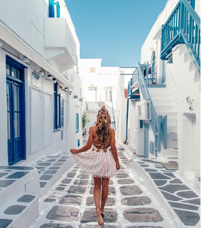 wanderlust, model and Greece