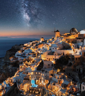 vacation, santorini and holidays