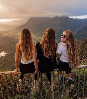 nature, view and friendshipgoals