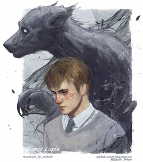 lupin, art and harry potter