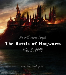 the battle of hogwarts, ravenclaw and harry potter