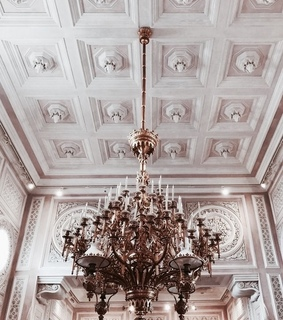 vogue, tumblr and chandelier