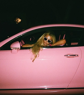 pink, car and barbie