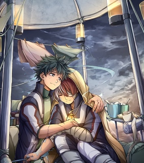 izuku midoriya, my hero academia and tododeku