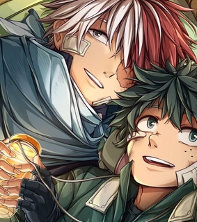 tododeku, my hero academia and todoroki shouto