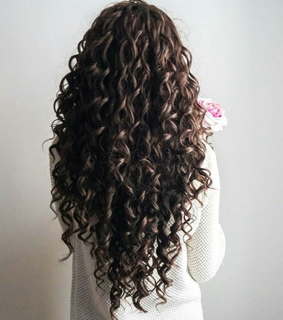 amazing, curly hair and longhair
