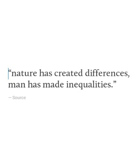 society, inequalities and lost
