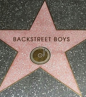 boy band, the best and hollywood walk of fame