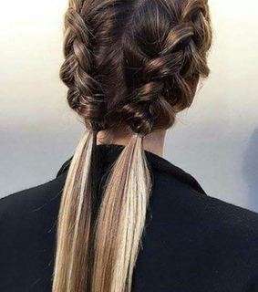 trenza, braid and peinado