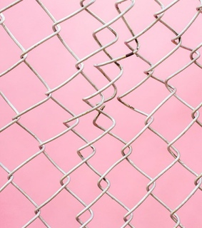 steel, think in pink and pastel