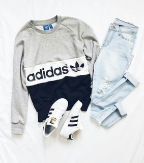 aesthetic, adidas and grunge