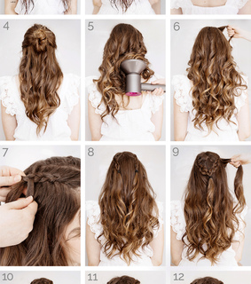hairstyle, tutorial and hair