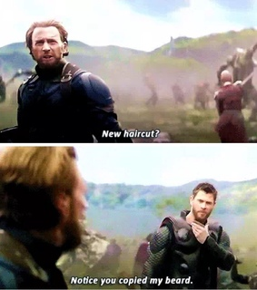 thor, captain america and infinity war
