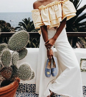 summer, white and cactus