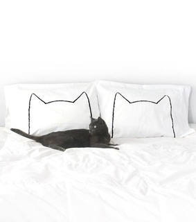 bed, black and funny