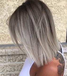 blonde, hair and style