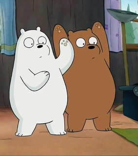 cute, cartoons and we bare bears