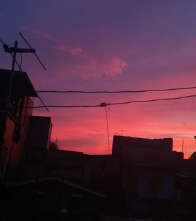 aesthetic, pink and sunset