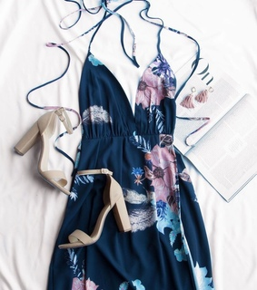 flower, aesthetic and dress