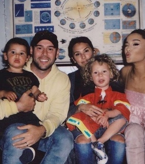 ariana, ?agb and scooter braun