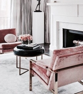 rose gold, interior design and rose gold theme