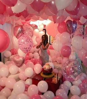 birthday and pink