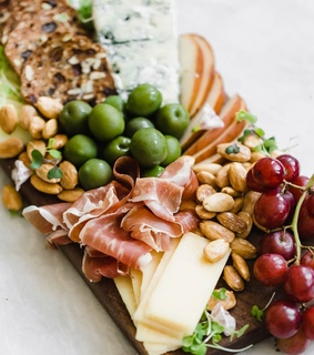 yummy, nuts and cheese
