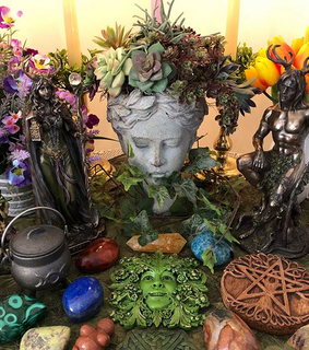 flowers, magic and witchery