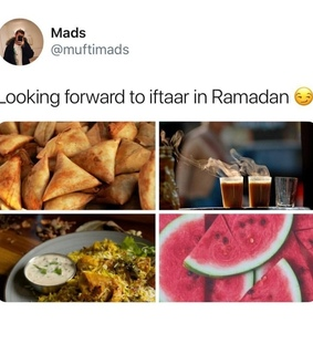 watermelon, allah and tea chai