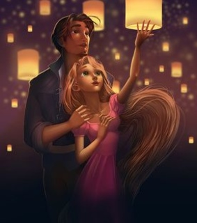 love, rapunzel and magic