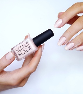 beauty, baby pink nails and glam