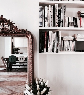 architecture, mirror and home