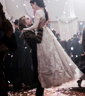wedding day, mary stuart and francis and mary