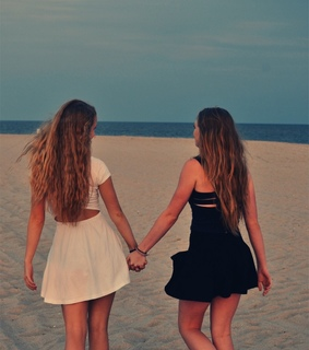 lesbian, holding hands and love is love