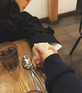 lesbians, hands and soft