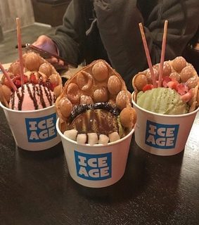 delicious, ice age and sweets