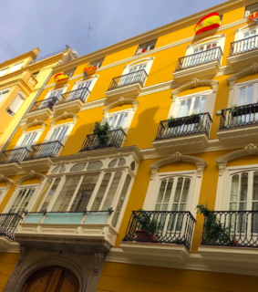 apartments, spain and sunlight