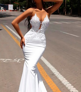 wedding dress, pretty and fashion