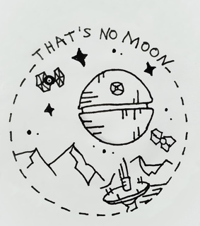 starwars, space and drawing