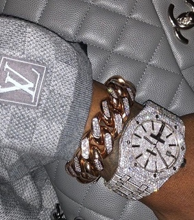 Louis Vuitton, bling and chanel