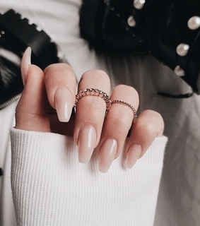 instagram, nude nails and cute
